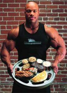 Phil Heath beslenme Programı
