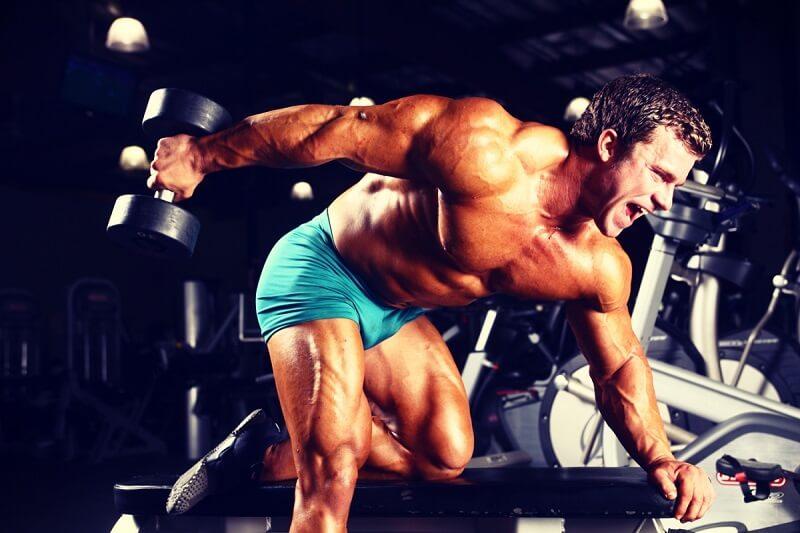 Triceps dumbbell kickback nasıl yapılır