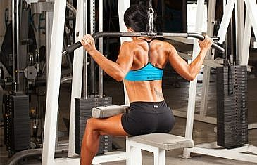 Back Neck Lat Pulldown