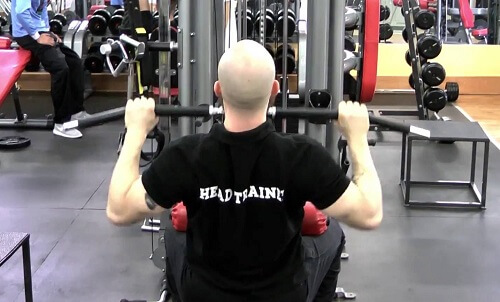 lat pull front