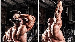 Seated One Arm Dumbbell Triceps Extension