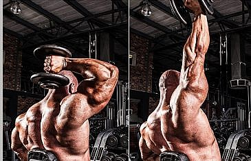 One Arm Dumbbell Triceps Extension