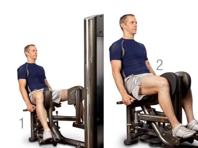Seated Machine Hip Adduction nasıl yapılır