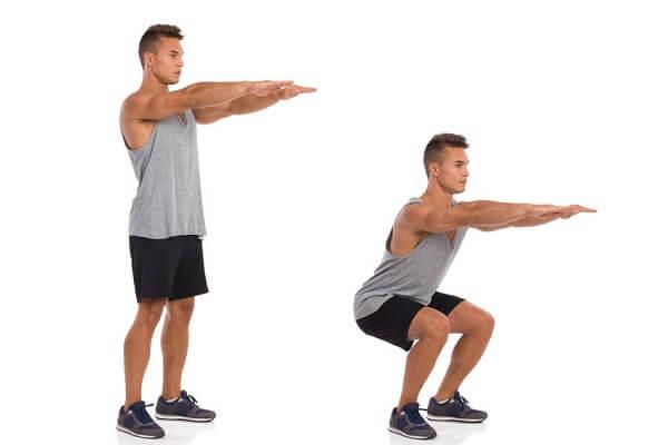 evde squat nasıl yapılır