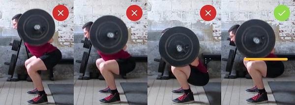 squat çeşitleri