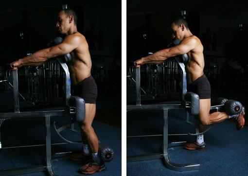 Standing leg curl nasıl yapılır