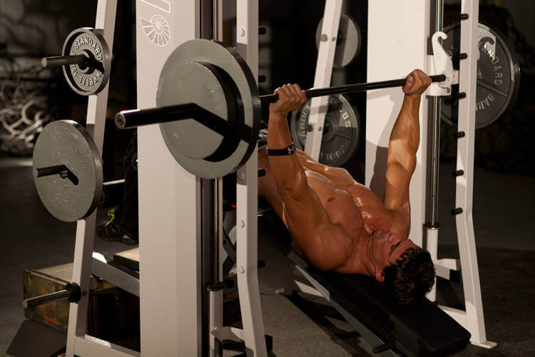 Smith Machine Decline Bench Press