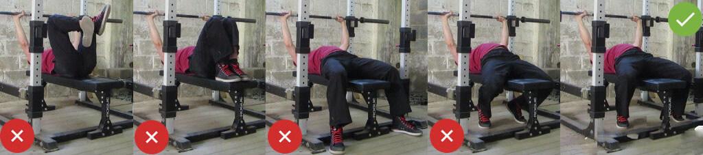 bench press nasıl yapılır