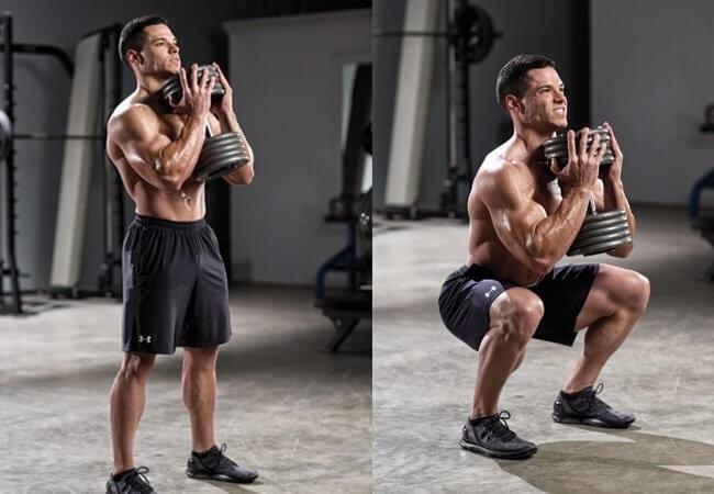 goblet squat nasıl yapılır